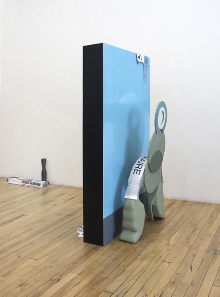 Erik Frydenborg, Nebula Winners, 2015. Installation view, Andrew Rafacz Gallery, Chicago.