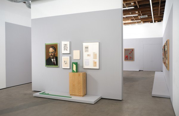 Erik Frydenborg, Dr. (illegible), 2011. Installation view, Cherry and Martin, Los Angeles.