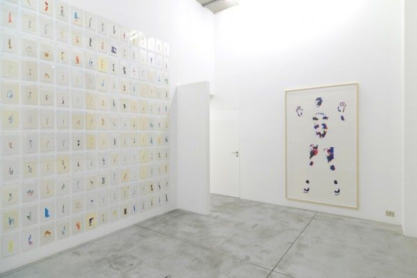Erik Frydenborg, Full Color Bachelor, 2014 Installation view, Albert Baronian, Brussels.