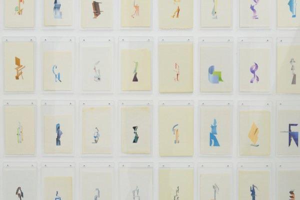 Erik Frydenborg, Full Color Bachelors (1-231), 2014. (detail)
