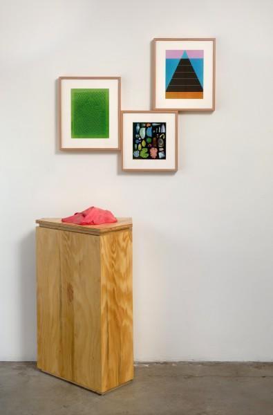 Erik Frydenborg, Legend, 2009. Installation View, Bonelli Contemporary, Los Angeles.