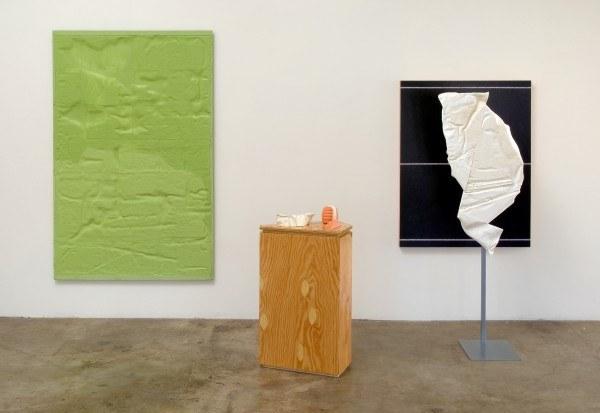 Erik Frydenborg, Protein Recital, 2009. Installation View, Bonelli Contemporary, Los Angeles.
