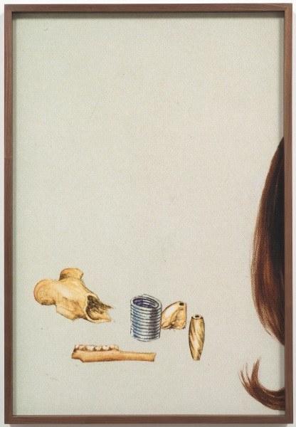 Erik Frydenborg, Soft Shoulders, 2010. Framed Lightjet print. 41 x 26 inches.