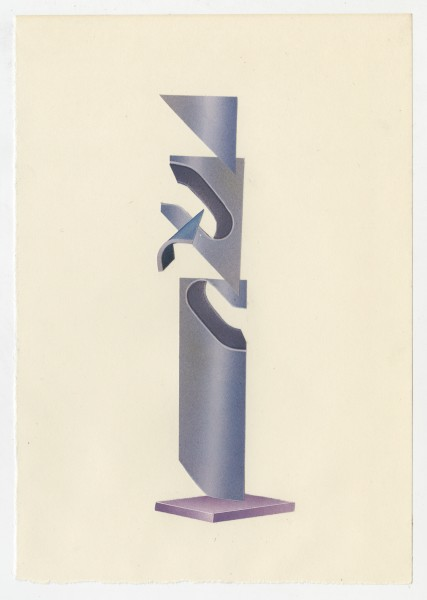 Erik Frydenborg, Full Color Bachelor No. 243, 2014. Collage on endpaper. 7.75 x 5.5 inches.