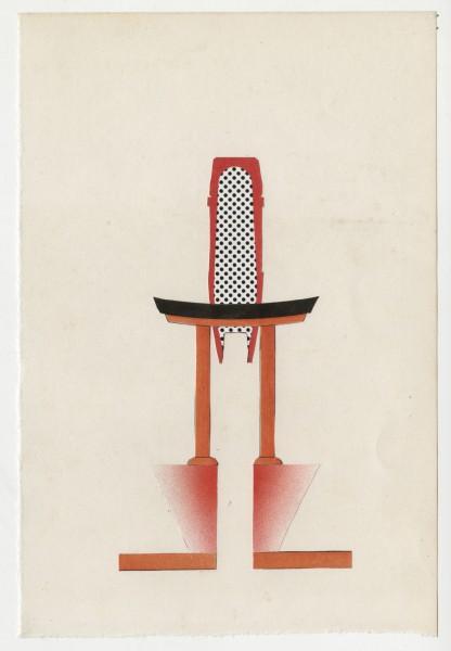 Erik Frydenborg, Full Color Bachelor No. 285, 2014. Collage on endpaper. 8 x 5.5 inches.