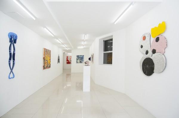 Erik Frydenborg, Re-Planetizer, 2016. Installation view, Regina Rex, New York.